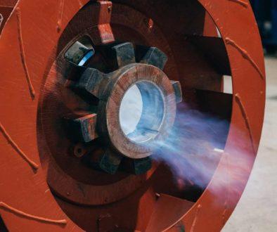 Reparación de maquinaria industrial por Monge León
