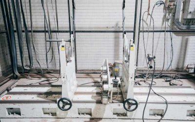 Monge Leon equilibradora para reparación de maquinaria industrial